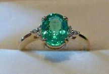 ring blue green
