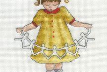 dětské motivy / dětské křížk.vyšívání