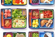 Lanches e comidas para crianca