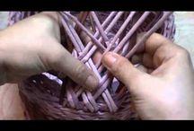 pletene kosiky, nabytok, rozne