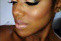 make-up style