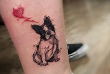 Frenchie tattoos