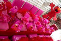 Elmo party / by Crys Stanard