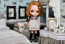 My Dolly Diorama / Stuff I create for my Blythe dolls.
