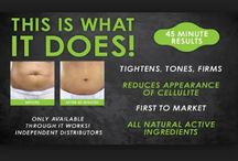 It Works DIY tighten, tone and firm Body Wraps / Lastest cosmetic and beauty product to hit the UK after sit success in America and Hollywood.  All products are 100% natural and botanical and have visible and proven results to tighten, tone and firm your skin! It Works Global are changing people confidence , lives and bodies for the better :)