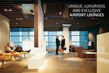 Interior Design (Airport Lounges)