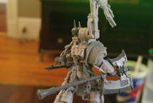 Warhammer 40K kitbashing
