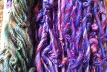 handspun yarns