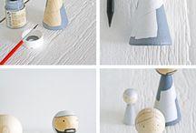 wooden dols