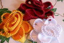 Paper & Fabric Flowers