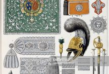 French military accoutrements of the royal guard