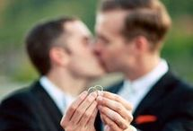Same sex weddings / Same-sex / gay wedding ideas, advice and inspiration! Find wedding inspo whether you're looking for MR & MR or MRS & MRS ideas!