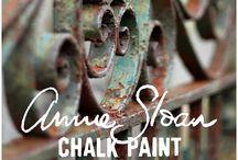 shalk paint - annie sloan