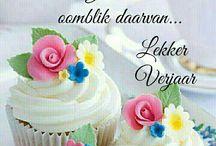 Verjaarsdag gelukwensing