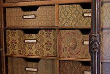 My organized storage