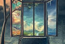 Fantasy and illustrations..