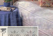 hekleoppskrift på sengetepper