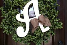 Wreaths & Decorating for Any Non Holiday =) / by Christine Carter