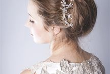 Moondance collection by Rosie Willett Designs / wedding headpieces