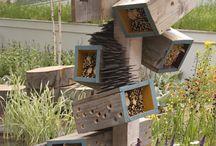 Insectenhotels/vogelhuizen etc.