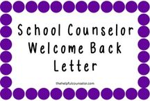 Beginning of Year - School Counseling / by Stacy Browning