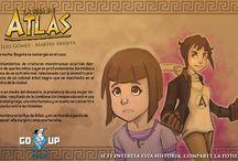 Arte Promocional La Hija de Atlas / Promos La Hija de Atlas