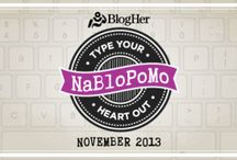 NaBloPoMo 2013 / National Blog Posting Month - Yes, I'm giving it a go...