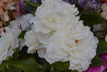 Flores artificiales / Flores artificiales para decorar cualquier rincón de tu casa.