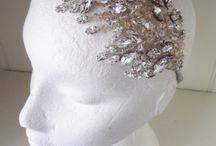 Honey crystal collection of headdresses / Beautiful wedding headbands created using honey tone crystals