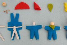 Seizoen poppen maken