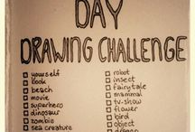 30 Day Drawing Challenge!!