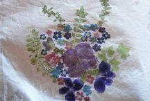 vytloukaná batika
