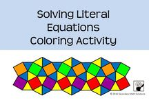 Math Coloring Pages / Secondary Math Coloring Pages, learn math while coloring, middle school math, high school math
