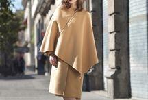 A capa y abrigo / Paulette Hernández posa entre abrigos y capas de la temporada para afrontar el frío invierno con mucho estilo