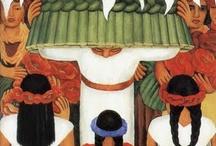Inspiración Mexicana / Selección de obras de artistas mexicanos.