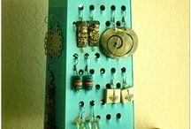 DIY Organization of tools accesories / Rapi,bersih,dan enak dilihat.Yuk coba disusun pernak-pernik aksesoris kita.