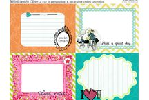 Printables / by Tina Brutto Daniels