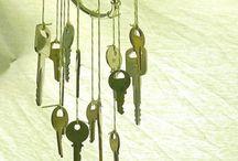 llaves colgando