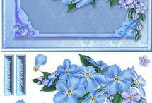 3D Blomster