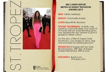 Beautifully Bronzed at TV BAFTAs 2013! / by St. Tropez