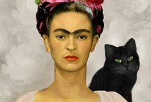 Frida Kahlo/Mexican Folk Art