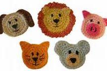 crochet animal motifs