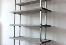 Galvanised furniture