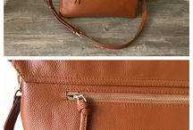Leather totes bag
