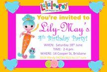 La La Loopsy Mermaid Party Ideas / La La LOVE La La Loopsy Mermaids