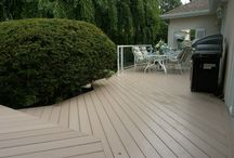 ECO WPC Balcony Decking / our product high  quality 、durable、prevent slip 、easy clean and install