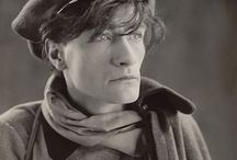 Antonin Artaud / Antonin Artaud (1896-1948) was a French dramatist known for his Theatre of Cruelty, a largely movement based style of performance that assaulted the senses of the audience through ritualistic action and sound.