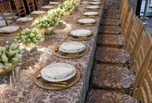 Dining / Place settings and the rooms for dining