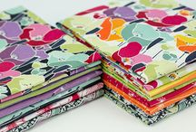 Meadow / Fabric collection designed by Makower UK.