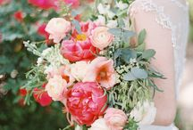 Peony Pinks & Lush Greens with a Champagne Splash / Inspiration brought from the beauty of Peonies and the lush greenery which surrounds them at your dreamy Wedding Day.